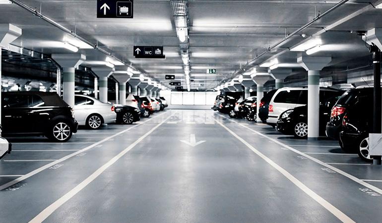 Mantención de Estacionamientos